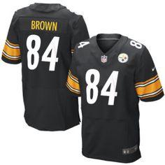 Antonio Brown Black #84 Pittsburgh Steelers $ 104.00