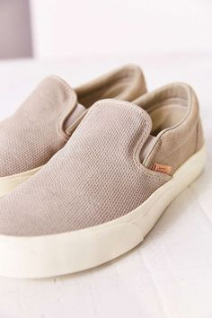 Vans Classic Knit Suede Slip-On Womens Sneaker - Urban Outfitters: