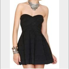 Bandage skater dress Brand new with tags Dresses Strapless