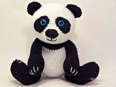 Smartapple Creations - amigurumi and crochet: Amigurumi panda pattern is available