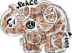 Peace Art, Hug, Cuddle