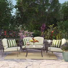 Three Posts 5-Piece Arden Patio Seating Group