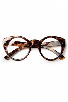 So Retro - 50s All About Eve Cat Eye Geeks Glasses Tortoise