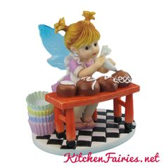 Truffle Artist Fairie - From Series Thirty of the My Little Kitchen Fairies collection