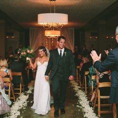 Lower ballroom ceremony   Photo by Yasmin Khajavi Photography