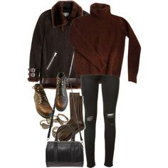 Untitled #9943 by nikka-phillips on Polyvore featuring Fendi, Acne Studios, rag & bone, Banana Republic and Forever 21