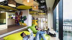 Au mois de juin dernier Google a inauguré les nouveaux locaux de son siège européen à Dublin, en Irlande. Sur près de 47.000 mètres carrés, le géant du We