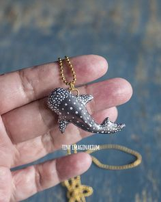 Whale shark necklace, whaleshark gift, shark pendant, marine life jewelry, gift for divers, ocean vibes, sea life, shark gifts, bag charm