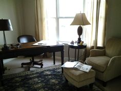 an office furnished by Classic Furniture