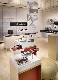Before debuting its new store prototype in Reading, U.K., Sunglass Hut built a full-scale mock-up at its U.S. headquarters. Here, designers could test how the fixturing, graphics and layout fostered the brand's sexier, fashion-forward store environment.View Image Details