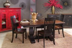 American-Made Hardwood Furniture Living Articles from Country View Woodworking Hardwood Furniture, Dining Room Furniture, Custom Furniture, Dining Chairs, Dining Table, Dining Room Design, Dining Set, Casual Dining Rooms, Industrial Furniture
