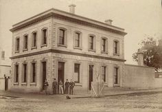 Horsham, Victoria 1888 - Biographical sketches of the Prominent Residents of the Town Melbourne Victoria, Victoria Australia, Victorian History, Commercial Bank, Banks Building, As Time Goes By, Historical Pictures, Beautiful Buildings
