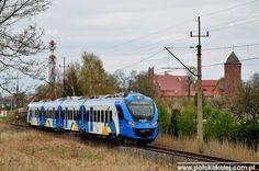 """ED78-002 jako REGIO """"Ina"""" do Słupska wjeżdża do Świdwina"""