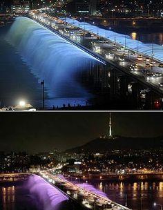 Seoul, South Korea. Banpo Bridge