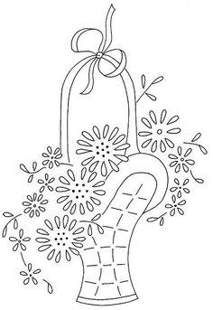cesta de flores 10    Flickr - Compartilhamento de fotos!  por Cathy