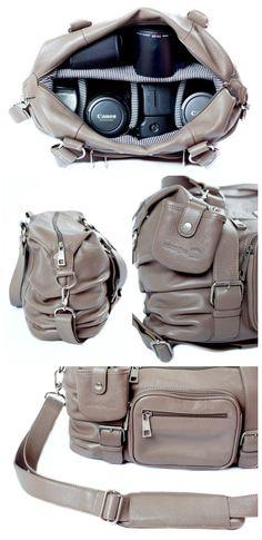Safari Camera bag by SHUTTER|bag.  The perfect camera bag!!