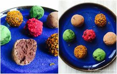 Healthyfied chocolate truffles with avocado --> MyCopenhagenKitchen.com