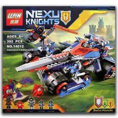 LEGO LEPIN 14012 Nexo Knights Clay's Rumble Blade