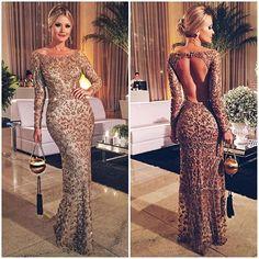 vestido de festa de oncinha