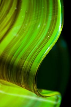 art glass abstract photography