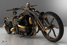 Steampunk motorcycle. This is amazing, I want one!
