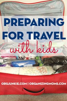 Traveling with Kids doesn't have to be an insurmountable task especially if you use these great tips!
