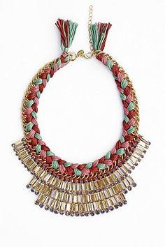 Statement Necklace Serena by LUAKetten Statementketten Necklace Trend 2014 Halsschmuck Bijouterie