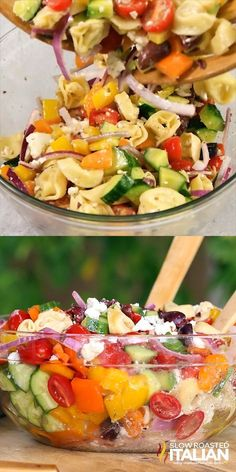 Greek Tortellini Pasta Salad Loaded with fresh vegetables and .- Greek Tortellini Pasta Salad Geladen mit frischem Gemüse und Tortellini-Nudeln … Greek Tortellini Pasta Salad Loaded with fresh vegetables and tortellini pasta, this is Greek -