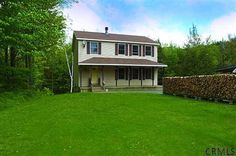 234 JAY HAKES Rd, Cropseyville, NY $265,000 REDUCED 3_Bedrooms 2-1/2_Baths Colonial: 2 stall garage, over19 acres, stone_fireplace http://goo.gl/PHTQd http://RENY.net #Real Estate New York
