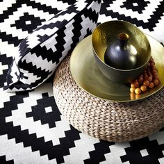 ANGENÄM bowls, dishes and vases are perfectly tribal.