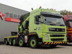Terberg FM2850 Huge Truck, Tow Truck, Big Trucks, Custom Big Rigs, Heavy Duty Trucks, Volvo Trucks, Heavy Equipment, Netherlands, Cars