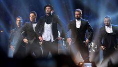 [FOTOS] Justin Timberlake y N'sync fueron los protagonistas de los MTV #VMAs2013