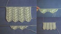 Balık Kılçıkları Örgü Modeli Kolay Bayan Yelekleri Örneği Lucet, Hairpin Lace, Baby Knitting, Hair Pins, Tatting, Knitting Patterns, Crochet Necklace, Crafty, Embroidery