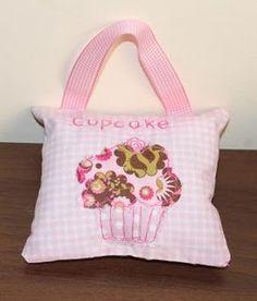 cupcake lavender cushion