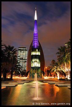 The Swan Bell Tower City & Architecture Perth Western Australia, Australia Travel, Australia Visa, Visit Australia, Unique Architecture, City Architecture, Tasmania, Places Around The World, Around The Worlds
