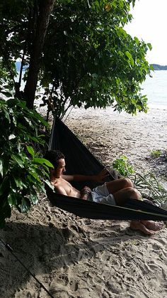 Chilling out at our kitesurfing nature camp in Linapacan, Palawan, Philippines. Philippines Palawan, Tent Tarp, Large Tent, Kitesurfing, Chilling, Camping, Island, Outdoor Decor, Nature