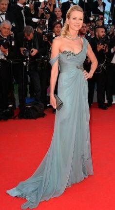 Naomi Watts in Marchesa - 2014 Cannes Film Festival