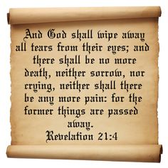 passages from evelations | Revelation 21 Verse 4 | Inspirational Christian Quotes