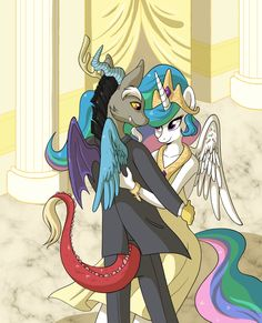 celestia and discord human - Google Search