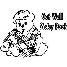 kids get well coloring pages   101 Best Get Well Soon Ideas for kids images   Child ...