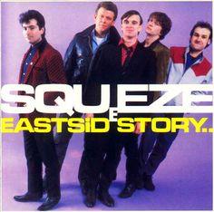 Squeeze - East Side Story: buy LP, Album at Discogs Lp Vinyl, Vinyl Records, 80s Album Covers, Robbie Robertson, The New Wave, Joy Division, Best Albums, Soul Music, East Side
