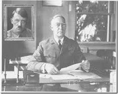 Gus Vollmer was a NAZI- His Allegiance was to the Fuhrer Adolf Hitler