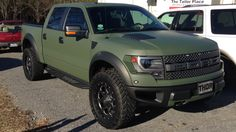 OD Green Ford Raptor