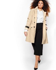 Looking for a stylish plus size trench coat to add to your wardrobe? Well, we found 8 chic and classic plus size trench coats sure to refresh your look and get you through these chilly months. Polish up your wardrobe with the perfect trench coat. Coat Update: 8 Plus Size Trench Coats You Need Now! http://thecurvyfashionista.com/2017/02/spring-plus-size-trench-coats/