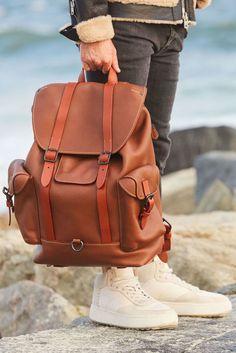 8b9892900a30 Coach 1941 gotham backpack in glovetanned leather  54520 runway retail   1100 nwt