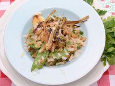 Arroz integral con verduras  http://www.canalcocina.es/video-receta/arroz-integral-con-verduras-1