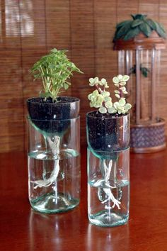 Cool Wine Bottles Craft Ideas (2)                                                                                                                                                                                 More