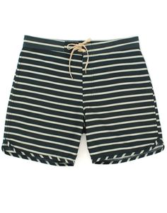 Cut out stripe trunks ($66) by Mollusk Surf Shop, mollusksurfshop.com