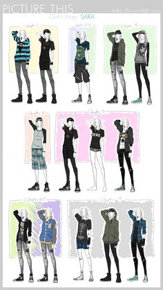 PT - Outfit Map: Sara by Ai-Bee
