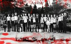 I really don't consider Another as a horror anime, it just really wasn't scary or creepy in my opinion. It was just a bit gory and had nice plot twists and unexpected turn of events. Another Misaki, Another Anime, Corpse Party, Angel Beats, Fairy Tail Anime, Anime Love, Vampires, Dbz, Manhwa